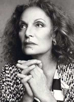 'If I have any goal in fashion, it is to help women express their strength.' – Diane von Fürstenberg
