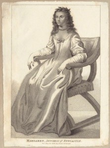 Laurels for Learning - portrait of Cavendish after Abraham Diepenbeeck's stipple engraving